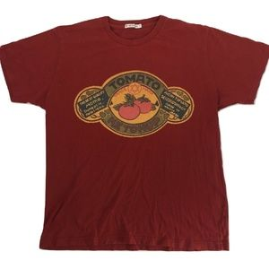UNIQLO X KAGOME Red Ketchup T-shirt XL Double Side